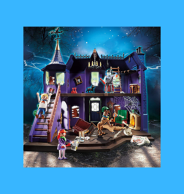 PLAYMOBIL SCOOBY DOO ADVENTURE IN THE MYSTERY MANSION