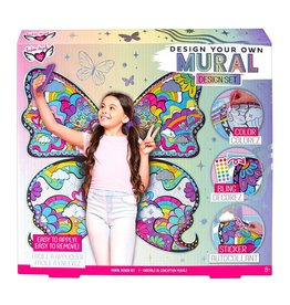 FASHION ANGELS MURAL DESIGN SET BUTTERFLY WINGS DIY