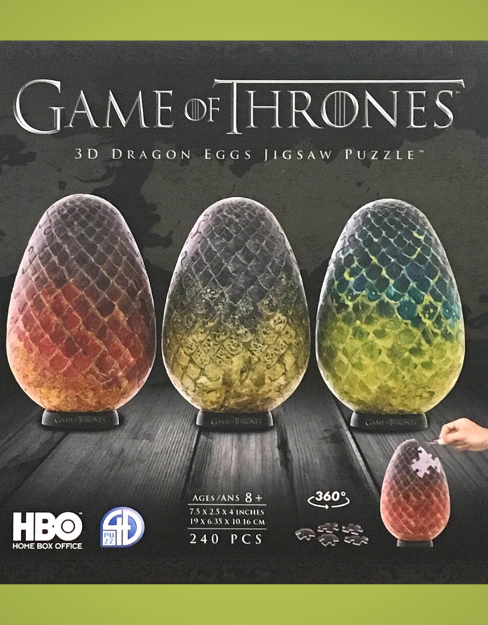 GAME OF THRONES 3D DRAGON EGGS