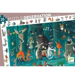 DJECO ORCHESTRA PUZZLE OBSRVATION & POSTER