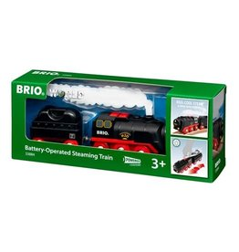 BRIO RAVENSBURGER BATTERY-OPERATED STEAMING TRAIN