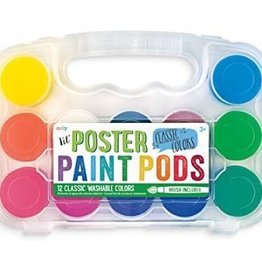 OOLY LIL POSTER PAINT PODS CLASSIC COLORS