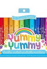 YUMMY SWEET SCENTED MARKERS 12PK