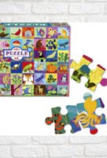EEBOO PORTRAITS OF NATURE PUZZLE 64 PC