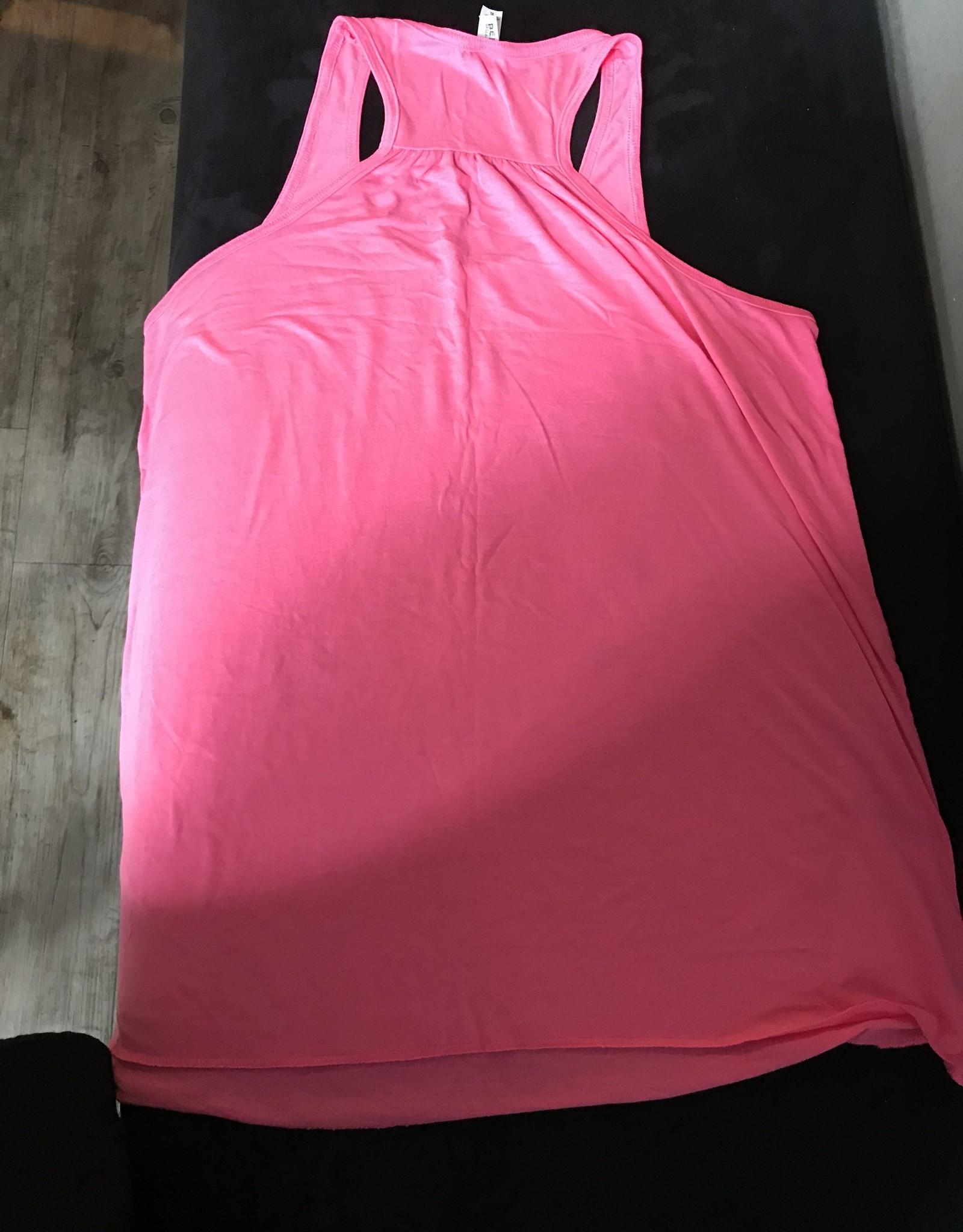 Womens Tank Hot Pink