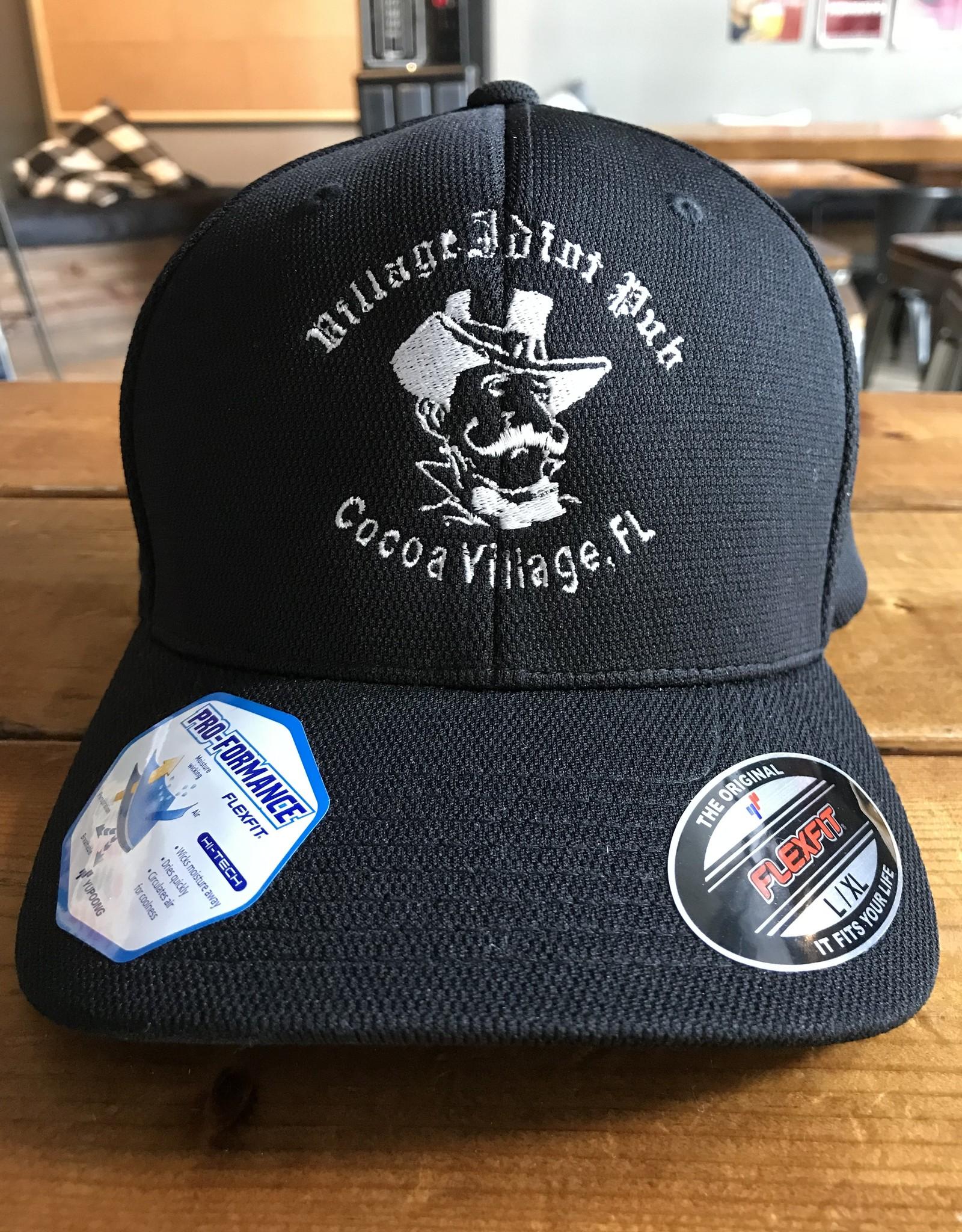Black VIP Flex Fit Hat