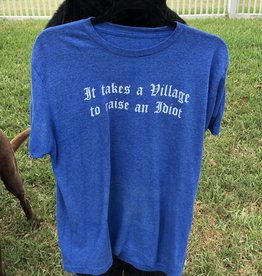 It takes a Village Shirt Blue