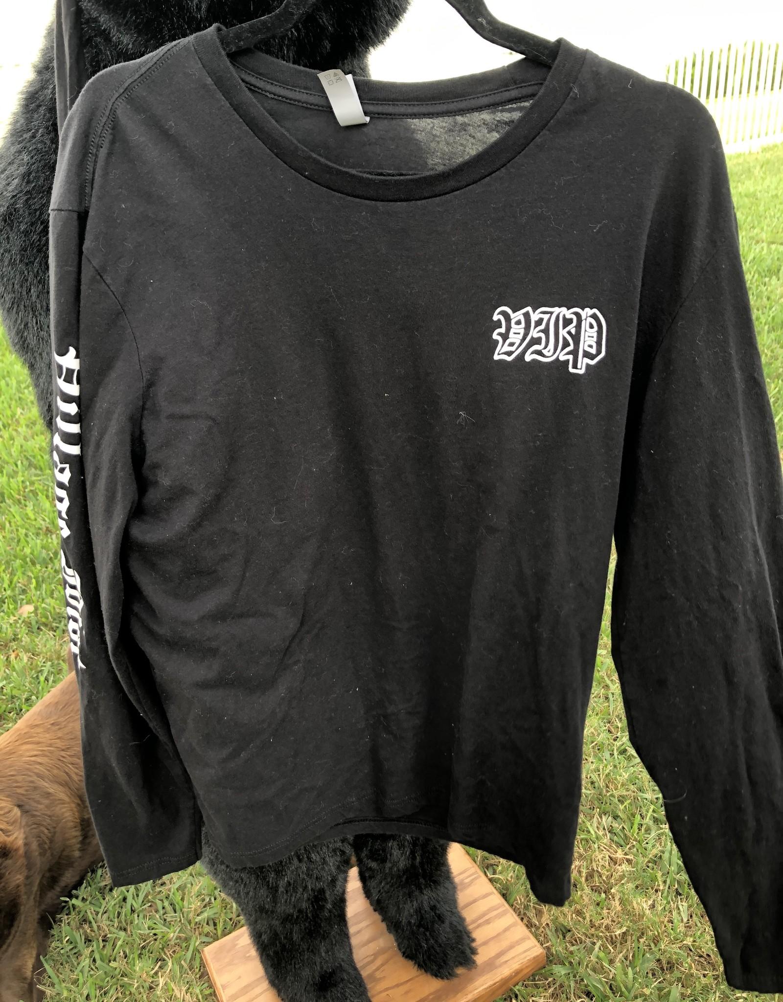 Long Sleeve VIP Black Shirt