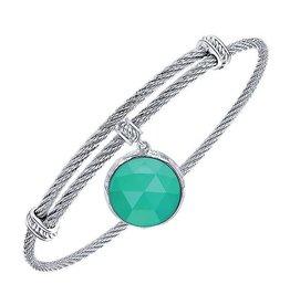 Colored Gemstone Expandable Bracelets (Multi Color)