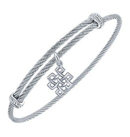 Endless Knot Expandable Bracelet