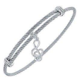 Music Note Expandable Bracelet