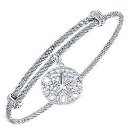 Sand Dollar Expandable Bracelet