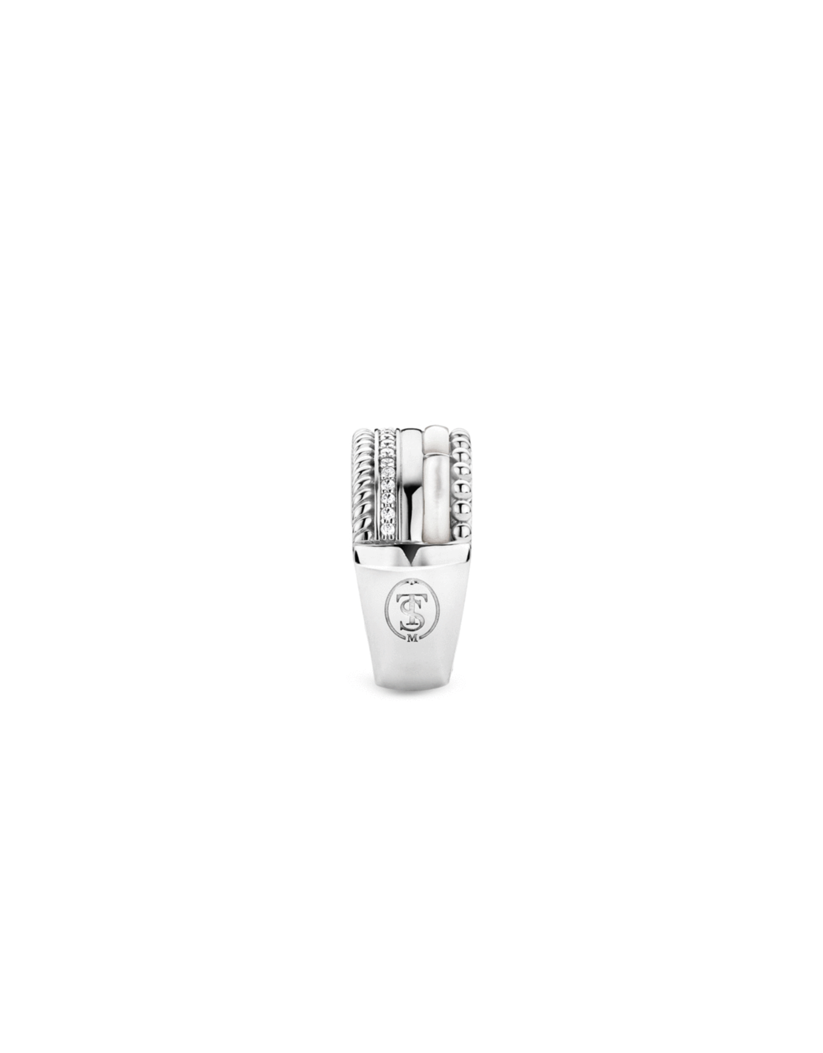 Mother of Pearl Statement Ring- 12038MW/58