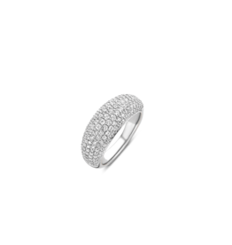 Zirconia Encrusted Bubble Ring