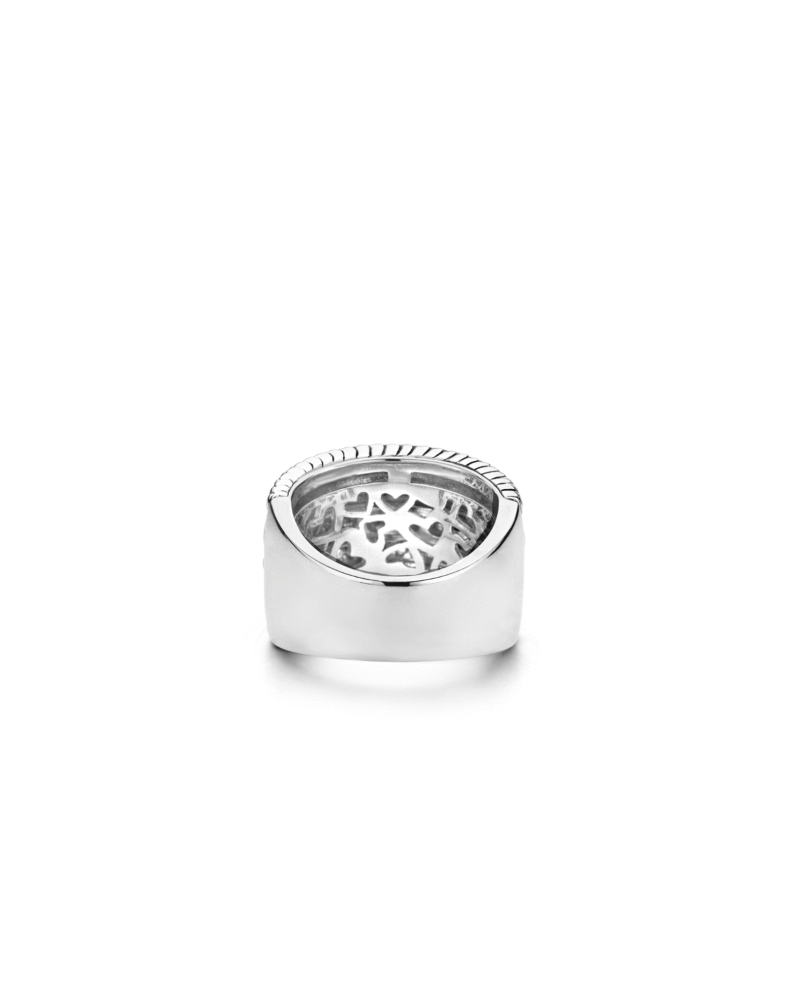 Best Selling Iconic Textured Ti Sento Ring- 1835ZI