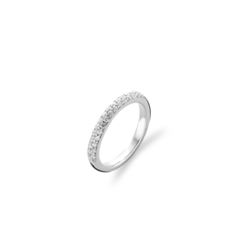 Pave Zirconia Stackable Ring