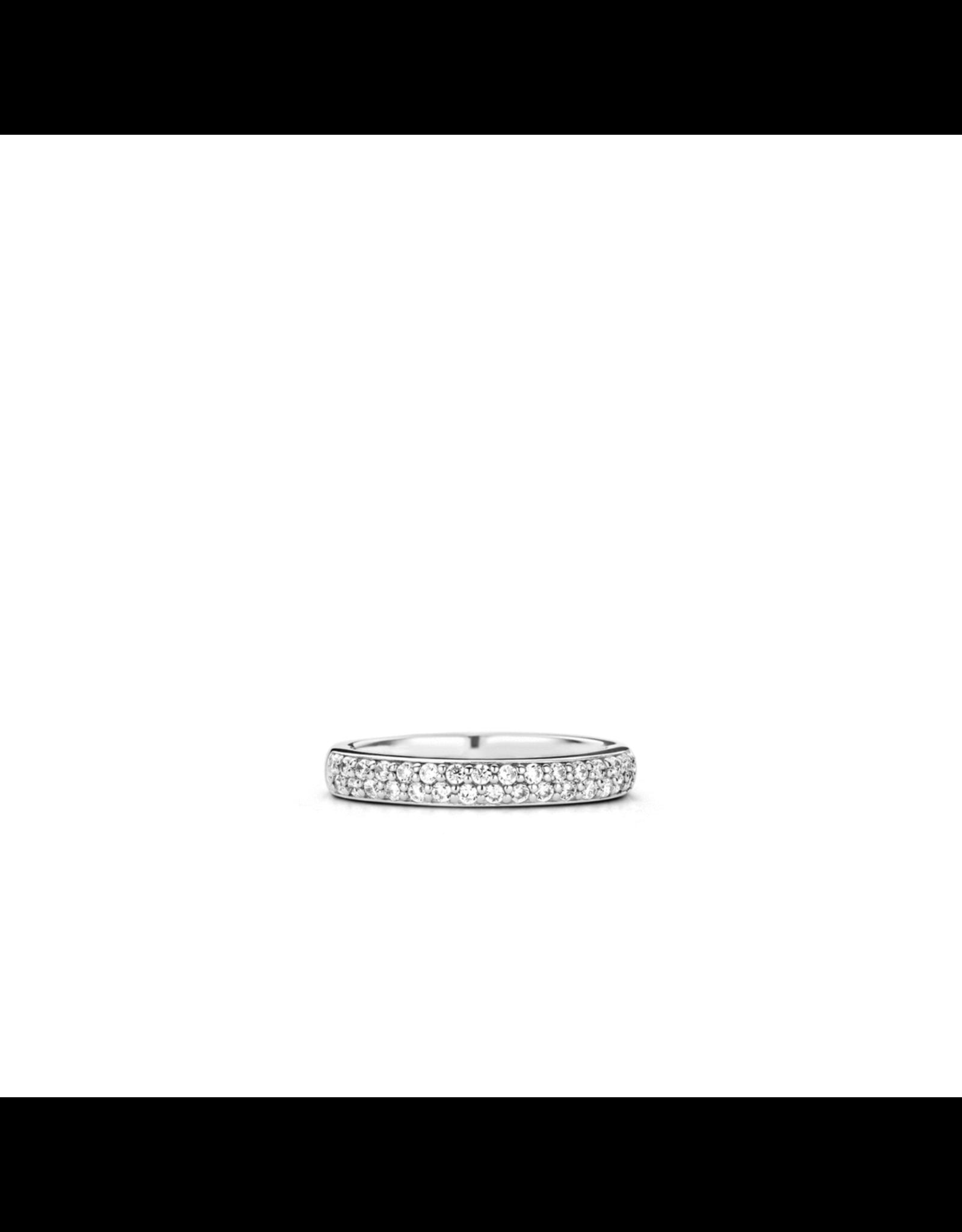 Pave Zirconia Stackable Ring- 1414ZI/56