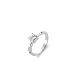 Best Selling Silver Solitaire Zirconia Ring