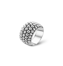 Iconic Silver Bubble Ring