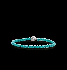 Dainty Turquoise Beaded Bracelet