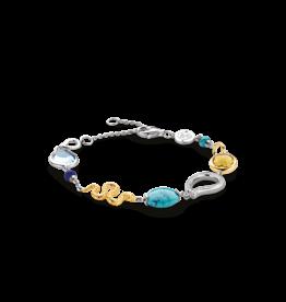 Multi Stone Ti Sento Fashion Bracelet