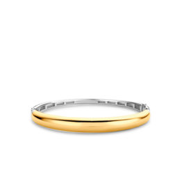 Timeless Yellow Gold Plated Bangle Bracelet