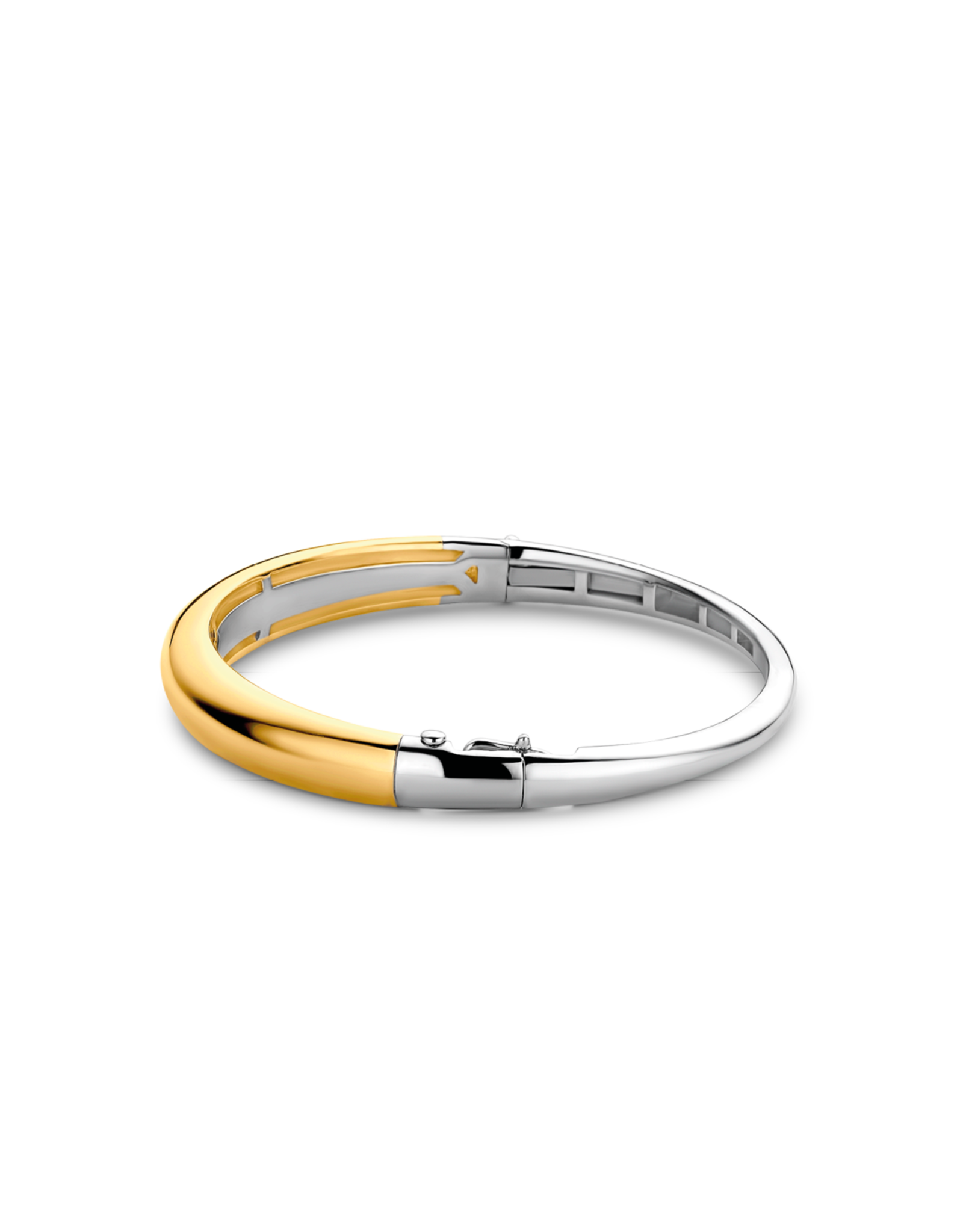 Timeless Yellow Gold Plated Bangle Bracelet- 2915SY