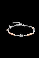 Rose Gold Plated Dainty Bracelet- 2929ZR