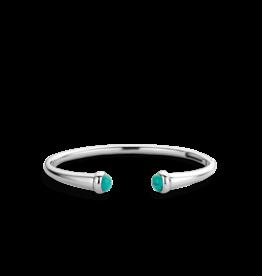 Sterling Silver Open Cuff Bracelet