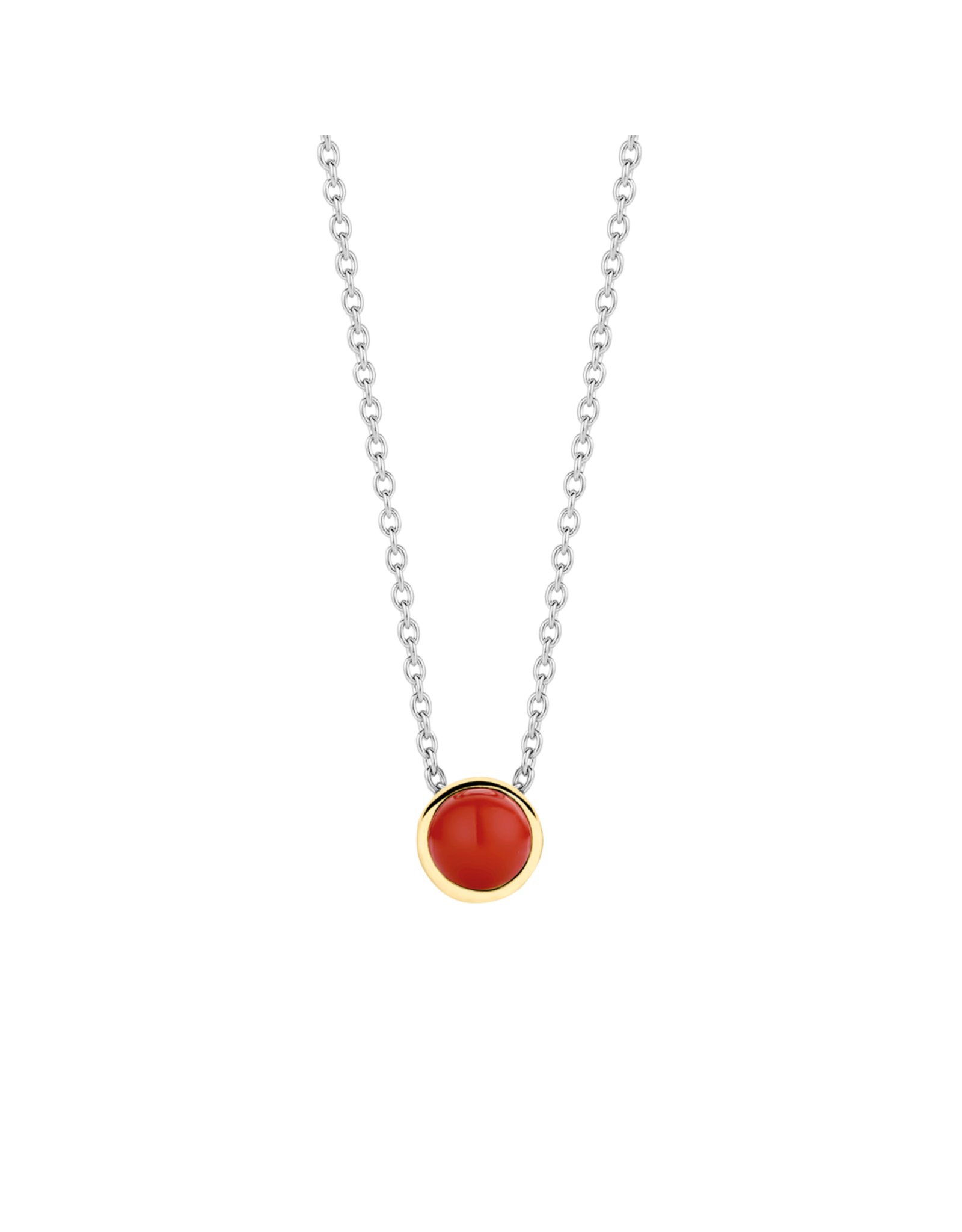 Petite Simple Coral Necklace - 3845CR