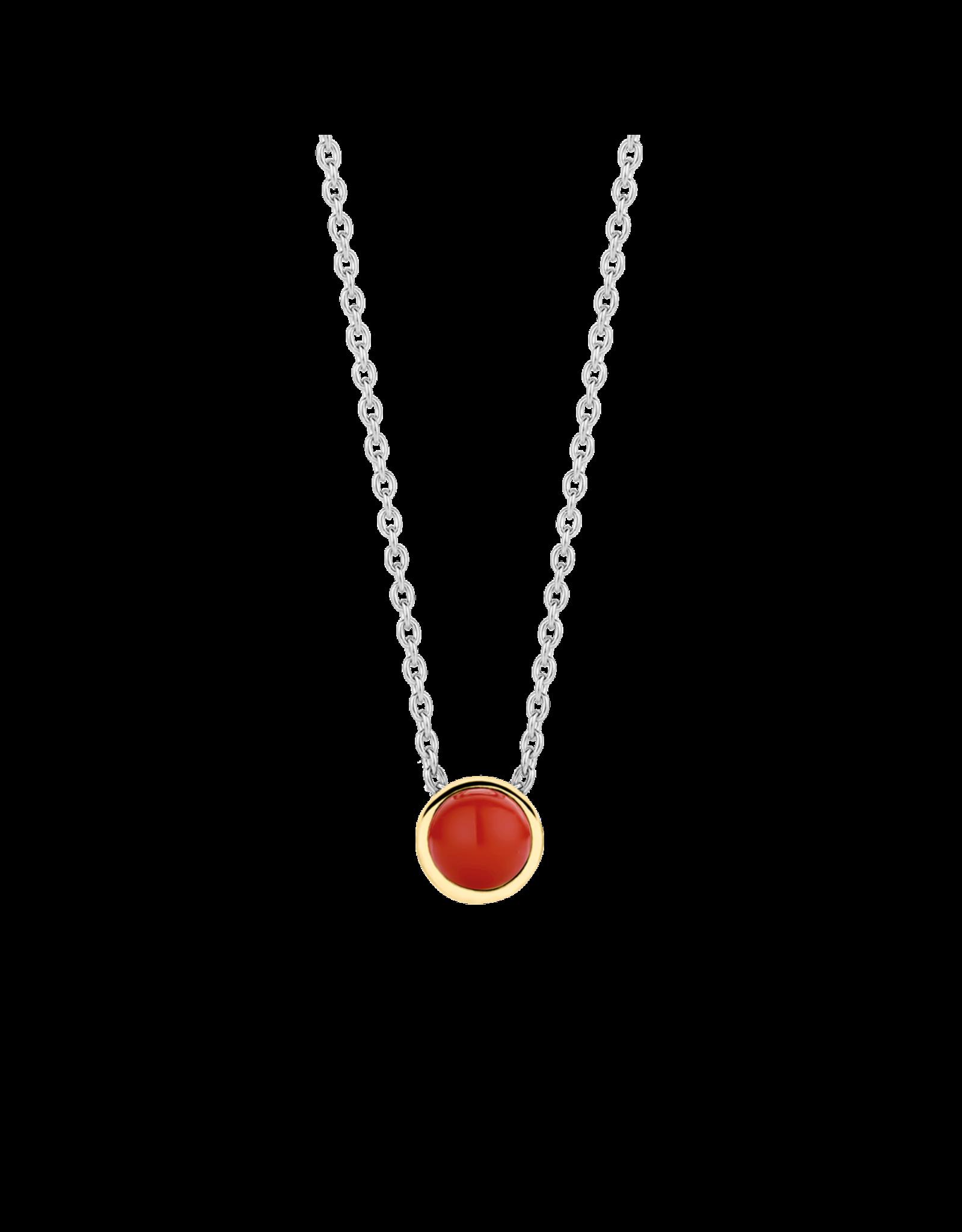 Petite Simple Coral Necklace - 3845CR