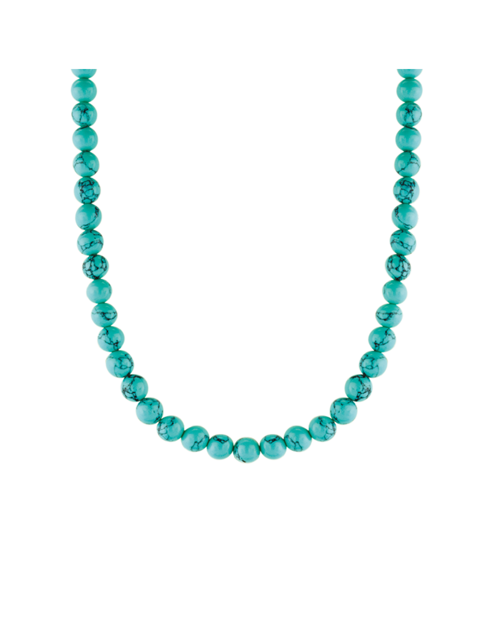 Turquoise Beaded Necklace- 3916TQ