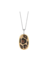 Leopard Print Necklace- 6771LY