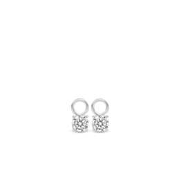 Zirconia Earring Charms (6mm)