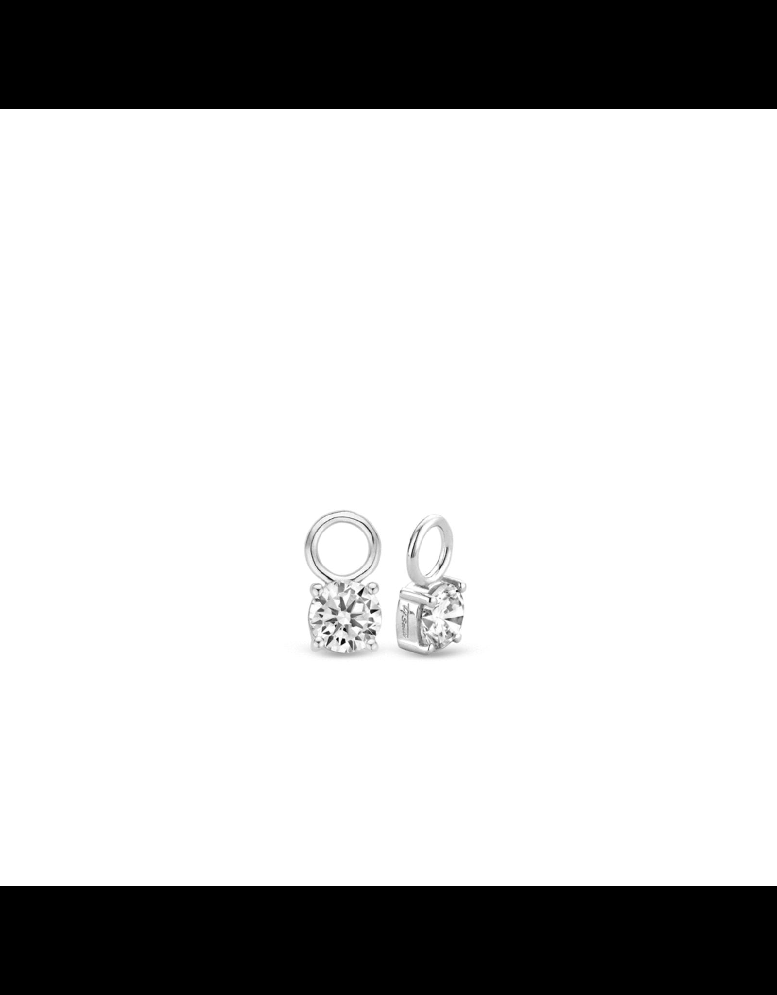 Zirconia Earring Charms (6mm)- 9142ZI