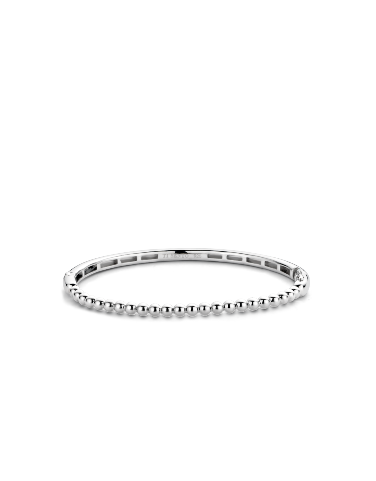 Thin Sterling Silver Bubble Bangle- 2944SI