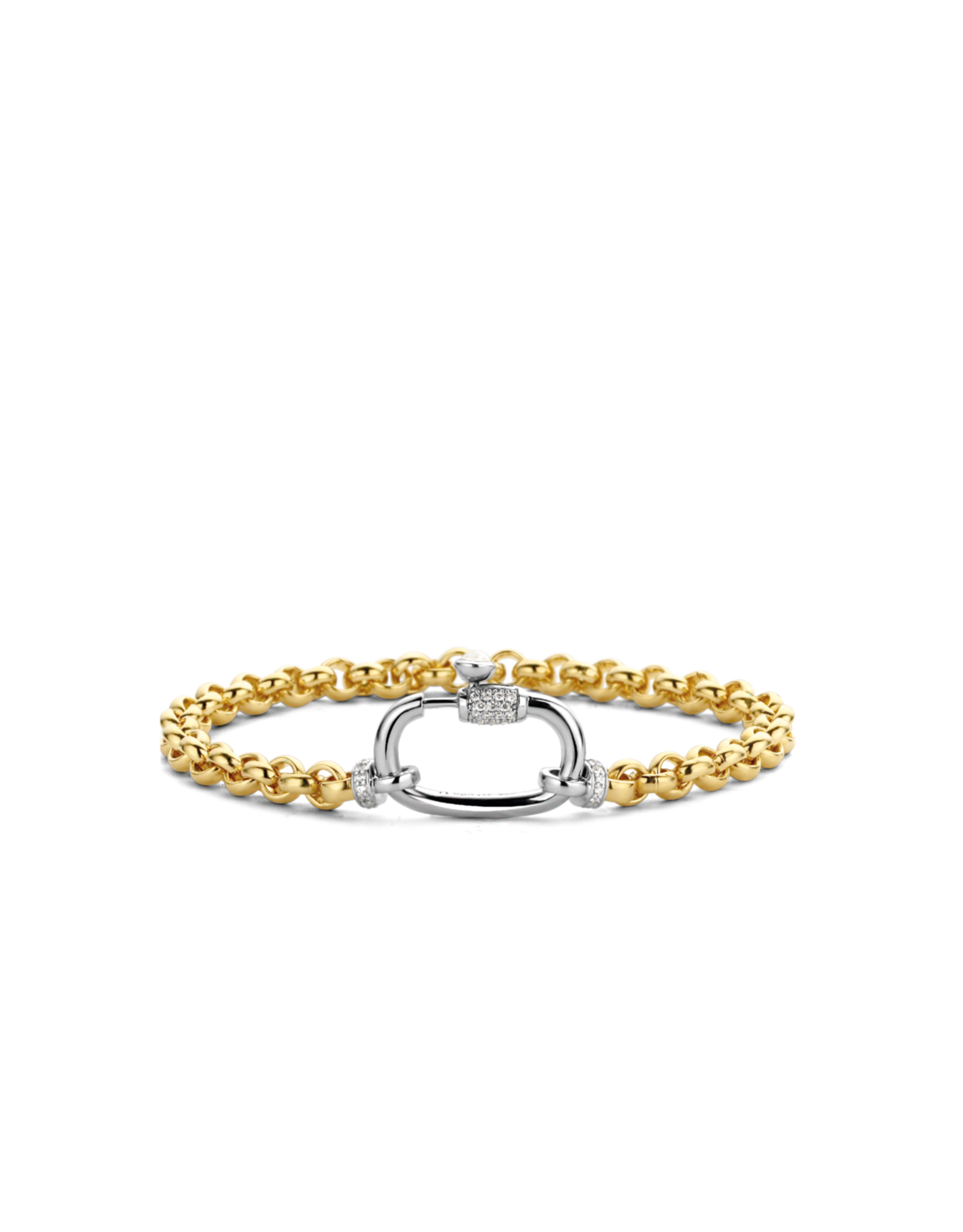 Yellow Gold Plated Silver Rolo Bracelet- 2950ZY