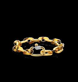 Bold Chunky Tortoise Link Bracelet