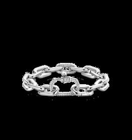 Bold Chunky Silver Link Bracelet