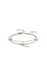 Yellow Gold Plated Guiding Star Bracelet- 2941ZY