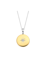 Yellow Gold Plated Guiding Star Locket- 6790ZY
