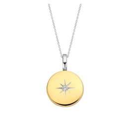 Yellow Gold Plated Guiding Star Locket