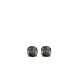 Translucent Grey Stud Earrings