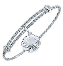 Claddagh Expandable Bracelet