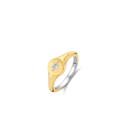 Yellow Gold Plated Guiding Star Ring