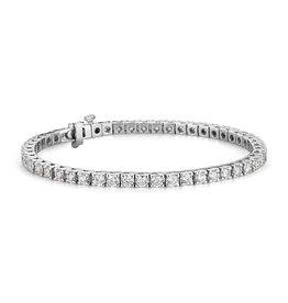 14K W/G Classic Diamond Tennis Bracelet