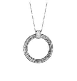 Braided Circle Necklace