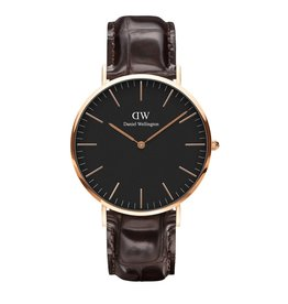 Rose Gold Classic Black York- 40mm