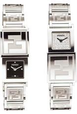 Fendi Ladies Double Dial Watch, 64 diamonds