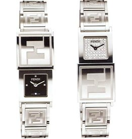Fendi Ladies Double Dial Watch